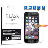 Wholesale iPhone Screen Protector HD Crystal Clear Tempered Glass Screen Protector for iPhone Plus S Plus