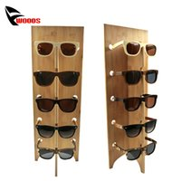 Wholesale Eyewear Racks - Wood Sunglass Racks Glasses Display Stand Wood Shelf Stand For Eyewear