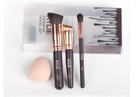 Wholesale Wholesale Travel Brush Sets - New Kylie Makeup Essential Travel Brush Set 3 pieces Makeup Brushes Makeup Tools Hot Free SHipping