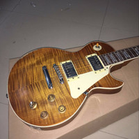 Wholesale Gary Moore Guitars - Custom Shop Gary Moore Flame Maple Top Handwork Relic Elecitrc Guitar One PC Neck ,Tribute Aged 1959 Smoked Sunburst Collectors Choice #3