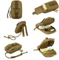 Wholesale Mechanics Tools - Tactical Bag Vice Package Wear Waist Belt Purse Outdoor Sport Military Tool Bag Messenger