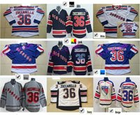 Wholesale Cheap Mats - Cheap York Rangers #36 Mats Zuccarello Jersey Wholesale Home Royal Blue White Hockey Jerseys New Stitched Nationals Flag Edition