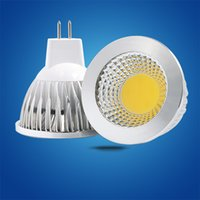Wholesale Cooler Shots - LED COB Spotlight Bulb E27 E14 GU5.3 GU10 MR16 3W 5W High power lamp AC220V DC12VDC24V Cup shoots the light