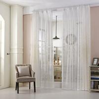 cortinas blancas modernas cortinas de la cortina cortinas pastorales de la cortina dormitorio de la sala de estar cortinas francesas de la ventana w w