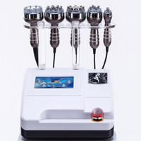 5 in 1 cavitation ultrasonic multipolar vacuum radio frequency slimming lipo machine