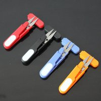 Wholesale Tailor Scissors Wholesale - Clippers Sewing Trimming Scissors Nipper Embroidery Thrum Yarn Fishing Thread Beading Cutter Mini tool free shipping F2017126