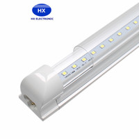 Hot sale 4ft 8ft T8 Led Tubes Light 22W 2400 Lumens 45W 4800Lumens 1200mm SMD 2835 Led Fluorescent Tubes Lights AC85-265V UL CE
