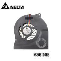ventilador de asus notebook venda por atacado-Atacado- Novo Ventilador De Refrigeração Do CPU Apto Para ASUS N53JF N53 N73 série N73JN laptop / notebook KSB06105HB 4-pin 4-fio