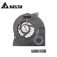 вентилятор процессора для ноутбука оптовых-Wholesale- New CPU Cooling Fan Fit For ASUS N53JF N53 N73 N73JN series laptop/notebook KSB06105HB 4-pin 4-wire