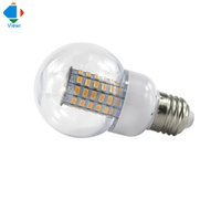 Wholesale E27 Led Lamp White - 5X ampoule led e27 bubble bulb ac 12v 24v 36v corn lamps smd 5730 69leds 220v home lighting super white energy saving light
