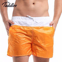 Wholesale Sexy Workout Wear - Wholesale-Desmiit Brand Man Sexy Wear Beach Boardshorts Active Sweatpants Mens Workout Cargos Fitness Bottoms Men Quick Dry Boxer Trunks