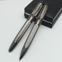 design de pacote único venda por atacado-Design exclusivo mb pen case pacote Daniel caneta esferográfica Daniel Maple leaf Clipe escritório escola suprimentos caneta para a escrita