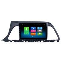 "Wholesale Dvd Player For Hyundai Sonata - 9"" Octa Core Android 6.0 Double Din Car DVD For Hyundai Sonata 2015+ GPS Navi Stereo BT 4.0 WIFI 4G Mirror Screen SWC OBD DVR 2G+32G RAM"