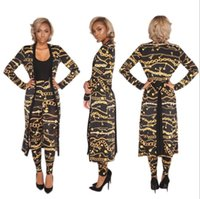Wholesale Women S Floor Length Dresses - 2018 Summer Traditional African Clothing 2 Piece Set Women Africaine Print Dashiki Dress African Clothes