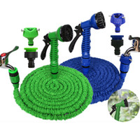 Wholesale blue expandable hose for sale - Group buy 100FT New Expandable Flexible Magic Garden Water Hose Garden Hose For Car Water Pipe Plastic Hoses To Watering With Spray
