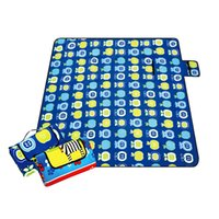Wholesale Plastic Camping Tent - Waterproof and waterproof picnic mat, camping moisture pad, tent mats[