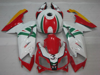 Wholesale White Zx14r - ABS Fairing for Aprilia RS125 2007 Body Kits RS 125 2008 White Red Fairing Kits Fairing Kits 2010 2006 - 2011