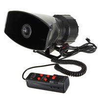 Wholesale 12V Loud Horn Siren for Car Auto Van Truck Sounds Tone PA System W Max db