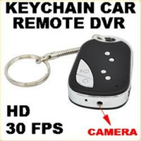 Fast Ship Alta qualidade Spy Car Key Camcorder Car KeyChain Câmera escondida Spy Video Recorder Camera DVR