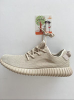 Wholesale Shoe Low Sole - Pu+RB Sole Right Vesion Boost 350 Shoes Sneakers Shoes Kanye West 350 Boost Low Men's Sports Running Shoes With bag Sock Keychain