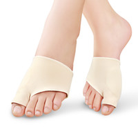 Wholesale Hallux Valgus Gel - 1 Pair Foot Care Fabric Gel Bunion Pads Protectors Sleeves Shield Anti-friction Big Toe Joint Insoles Hallux Valgus Corrector