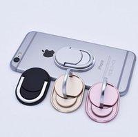 metall-handy-halter großhandel-Metallring-Telefon-Halter mit Stand-Telefon-Halter für iPhone 7 Plus iPhone 8 Samsung S8 Anmerkung 8 alles Mobiltelefon