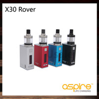 Wholesale Red Rover - Aspire X30 Rover Kit Compact NX30 Mod 30W 2000mah Battery Nautilus X Tank With 1.8ohm Nautilus X U-Tech Coils 100% Original