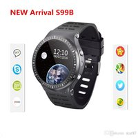 Wholesale Gsm Camera For Home - Android 5.1 Smartwatch GSM 3G Quad Core 8GB ROM Smart Watch cellphone With Camera GPS WiFi Bluetooth V4.0 Heart Rate Monitor for ios android