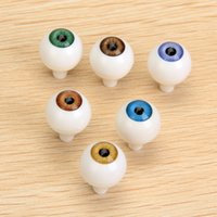 Wholesale Safety Animal Eyes - Safety Big Eyes 8 Pcs Round Acrylic Doll Eyes Eyeballs 14 22mm Dolls Accessories for Porcelain Dolls Animals Halloween