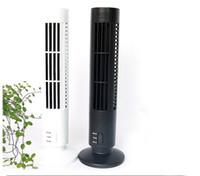 Wholesale Bladeless Fans - Mini USB Fan Air Conditioning fan Office  Household Appliances Tower Fan Desktop Dual Bladeless Portable FANS