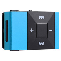 Wholesale Music Insert - Wholesale- MP3 Music Audio Player Mini Portable Clip MP3 Music Audio Player with TF Card Insert