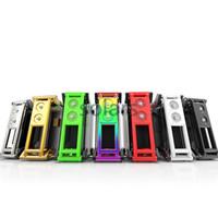 Wholesale lipo light laser - Authentic Xomo GT Laser 150 Box Mod 7 Colors 150W X Ray 3500mAh Lipo Flashing Light Vape Mod vs Cloupor Smoant Rabox
