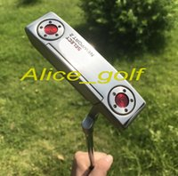 Wholesale Left Handed Golf Putters - 2017 top quality left hand golf putter Newport 2 putter with 15g weights removable headcover wrench golf clubs