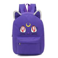 Wholesale sailor moon school bags for sale - Group buy Malidaike Anime Anime Sailor Moon Cartoon Tsukino Usagi Luna Cosplay Backpack School Bag