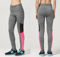 Wholesale Sexy Trousers For Ladies - VS Love Pink Women Yoga Pants Sexy Women Yoga Pants Sexy Tights Trousers Fitness Leggings for Ladies Girl KKA2999