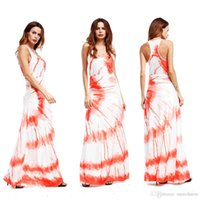 Wholesale Tank Top Printing China - made in china factory direct sales women tank top style sleeveless square neck maxi long dresses summer