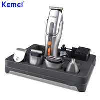 Wholesale adjustable trimmer shaver resale online - KEMEI ProfessionalCutter Electric Hair Clipper Rechargeable Hair Trimmer Shaver Razor Cordless Adjustable ClipperKM A