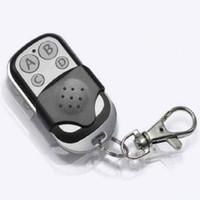 portão garagem remotes venda por atacado-Atacado-Universal Garage Door Cloning Controle Remoto Chave Fob 433mhz Gate Key Fob Novo