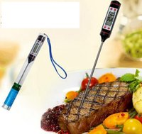 Wholesale Digital Thermometer Cooking Probe - Digital BBQ Thermometer Cooking Food Probe Food Thermometer Meat Thermometer Kitchen Instant Digital Temperature Read Food Probe