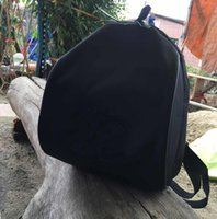 Wholesale Round Metal Tags - Hot saleing~ Luxury Famous Fashion C symbol black Backpack Travel Bag Vintage Style Retro black Backpack with tag best gift