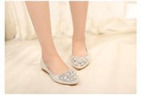 zapatillas oxford venda por atacado-Sapatas das mulheres larges tamanho dames schoenen doce confortável dedo apontado casual zapatos mujer oxford Não-slip apartamentos chaussure femme