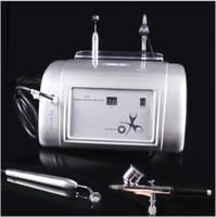 Wholesale Oxygen Infusion - Free Shipping Facial Oxygen Infusion Spraying Deep Cleaning Oxygen Injection Skin Rejuvenation Machine