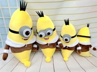 Minions 30/35/40 / 50cm Desprezível Me Stuffed Animals Peluches de brinquedos Outubro Novo Arrvial Hot Sale Birthday Gift Free Shipping
