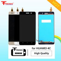Wholesale Display Huawei - High Quality A+++ for HUAWEI Honor 4C 4A 4X 5X LCD Display & Touch Screen Digitizer with   No Frame Assembly