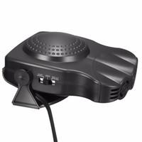 Wholesale Heat Fan Car Cooler - 2 in1 Portable Auto Car Van Heater + Cool Fan Windscreen Window Demister 12V 150W Heating Fan Free Shipping