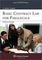 Wholesale 2017 Real Paper book Basic Contract Law for Paralegals free DHL shipping
