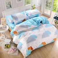 Wholesale Kids Twin Bedroom Sets - Wholesale-New Bedding Set Duvet Cover Sets Bed Sheet European Style Adults Kids Bedroom Sets Queen Full Size Polyester Bedlinen