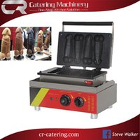 Wholesale Electric Penis - New Style Good Stainless Steel Electric Taiwan Carved Burning A Piece of Gayke 4 PCS Penis Shape Waffle Machine Used for Sale(CR-WP4B)