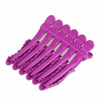 Wholesale hairdressing professional section clips tools for sale - Fashion new Professional Hairdressing Salon Section Hair Clips DIY Hair Accessories Clips Hair Care Styling Tools