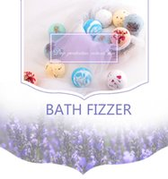 Wholesale Hot sale romantic bath fizzer ball for bubble bath extracted flower oil to protect your skin